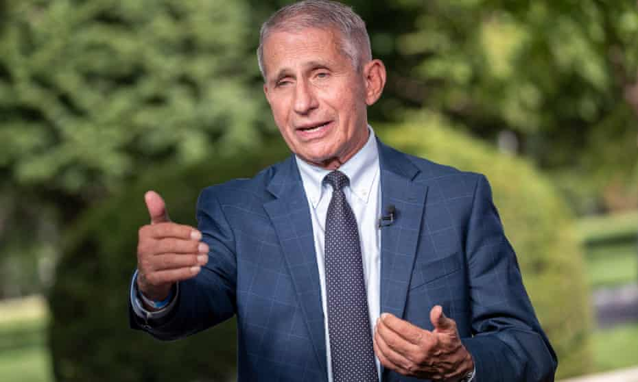 Infectious disease expert Anthony Fauci says the US could reach 'normality' by spring if vaccination rate increases