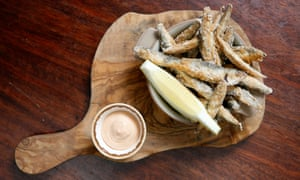 'Soft-bellied and crisp backed': the whitebait.