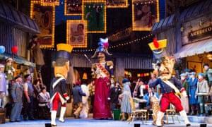 Bustle and flamboyance … Scottish Opera's La Bohème.