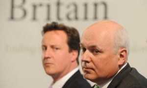 Iain Duncan Smith and David Cameron, pictured together in 2008.