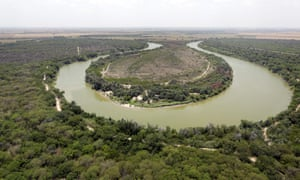 The Rio Grande in Mission, Texas.