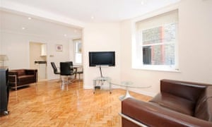 A flat in central London