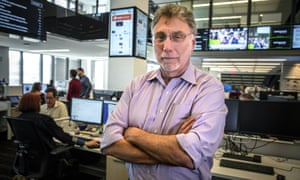 Marty Baron in 2016. He spent eight years at the Post.