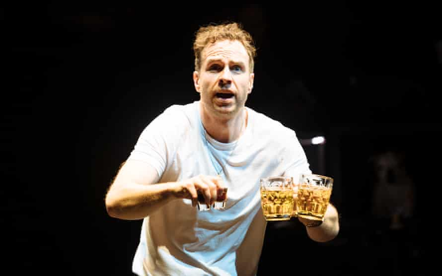 'It was like some mad possession' ... Spall in Death of England at the National Theatre.