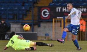 James Vaughan was unplayable as Bury ended their 21-game winless run in style.