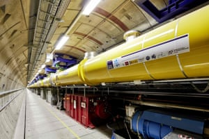 The nearly mile-long tunnel that houses world's biggest X-ray facility near Hamburg, Germany.