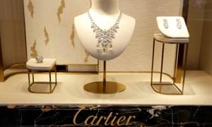 A Cartier store on Place Vendome in Paris.