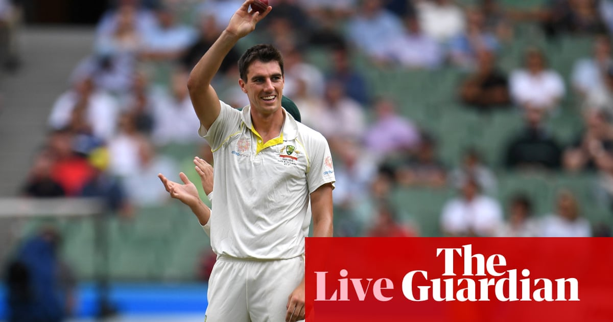 Australia v India: Boxing Day Test, day four - as it
