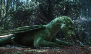 A scene from Disney's Pete's Dragon.