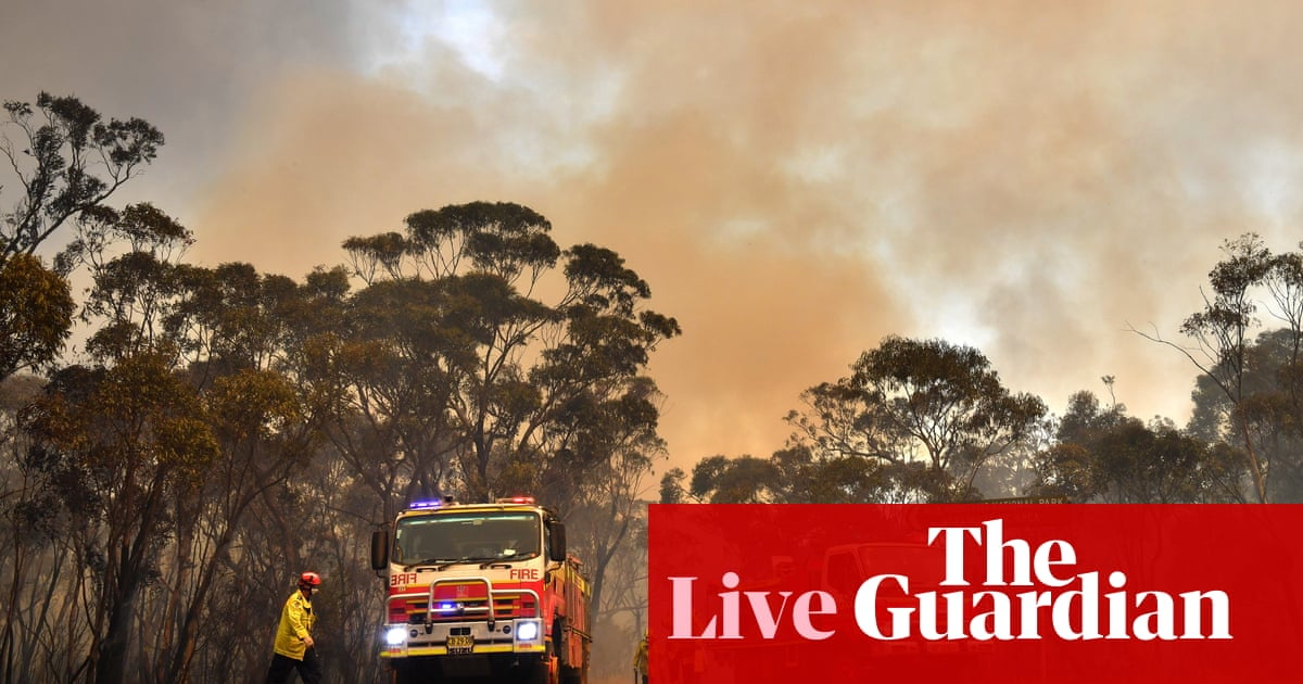 5357 - Australia bushfires: total fire ban in NSW as heatwave temperatures forecast to soar – live | Australia news