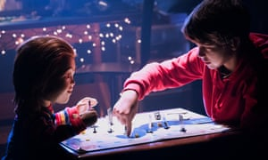 Chucky gets to know Andy (Gabriel Bateman) in the remake of Child's Play.