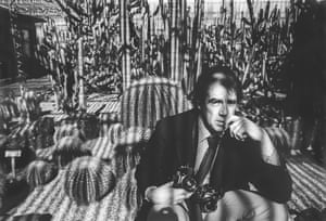 David Hurn in the Botanical gardens, Tempe, photographed by his friend Bill Jay in 1980.