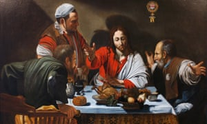 'Where did the world go wrong?' wondered David Haslam, of the National Obesity Forum, this week … Caravaggio's The Supper at Emmaus, of 1601