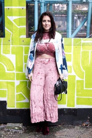 Kristin Wertz, Central St Martins student