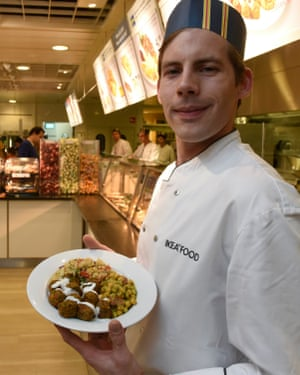 Vegan Meatballs on the menu at IKEA