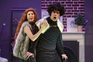 Mary Lou Kolbenshlag as Ygrette and Jordan Stidham as Jon Snow