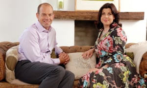 Channel 4's home-moving and property gurus, Phil Spencer and Kirstie Allsopp, pictured in 2009.