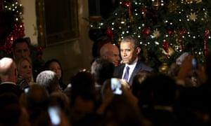 Barack Obama Christmas wishes