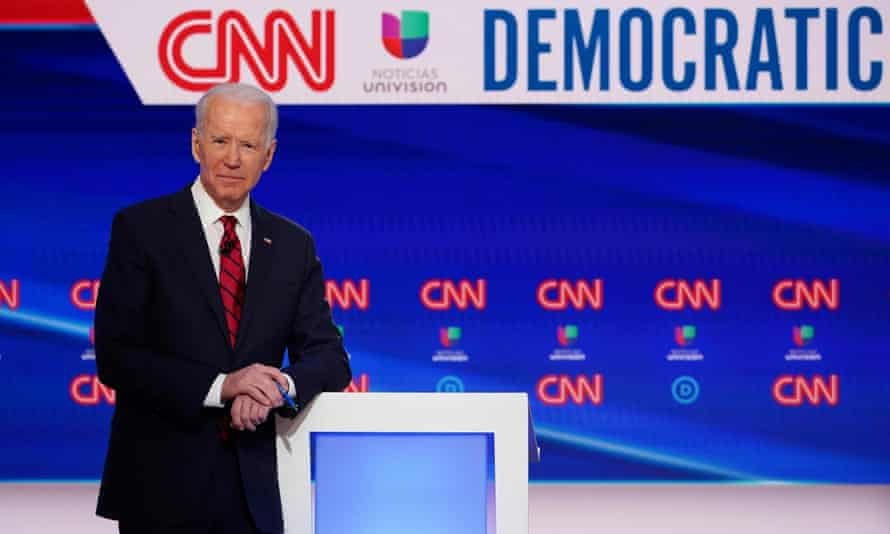 'State by state, poll by poll, Democrats – and voters in general – are saying that Biden is best placed to handle a crisis, and to unify the country.'