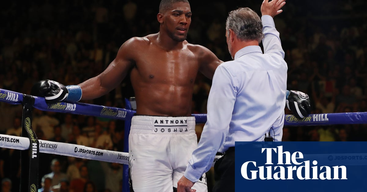 Anthony Joshua wanted to 'fight through concussion' against Andy Ruiz