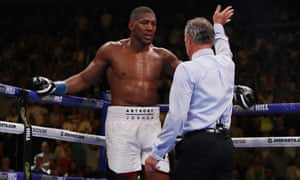 Anthony Joshua felt he could continue against Andy Ruiz Jr last August even though he had felt 'concussed' since the third round before the referee Michael Griffin stopped the fight in the seventh.