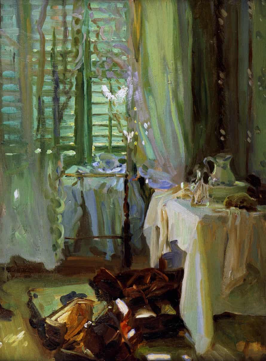 John Singer Sargent's The Hotel Room, (1904-06).