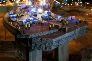 A scene from James Cauty's Model Village (The Aftermath Dislocation Principle).