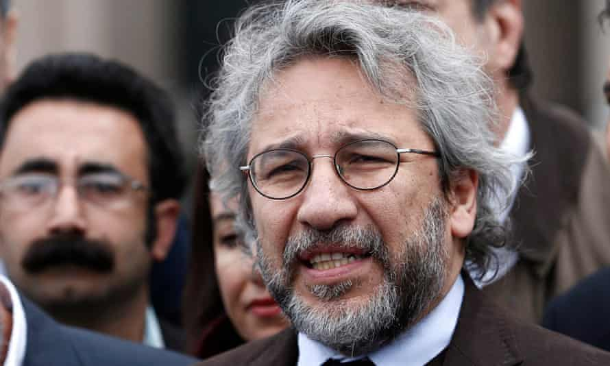 Can Dündar, pictured during his trial in May 2016