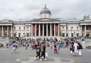 The National Gallery in London.