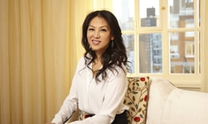 Amy Chua at her upper west side apartment in New York.