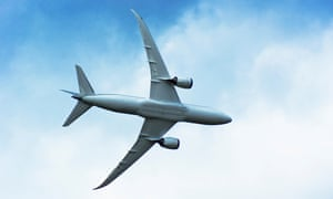 Quiet please: the Boeing 787 Dreamliner, less noisy than other planes.