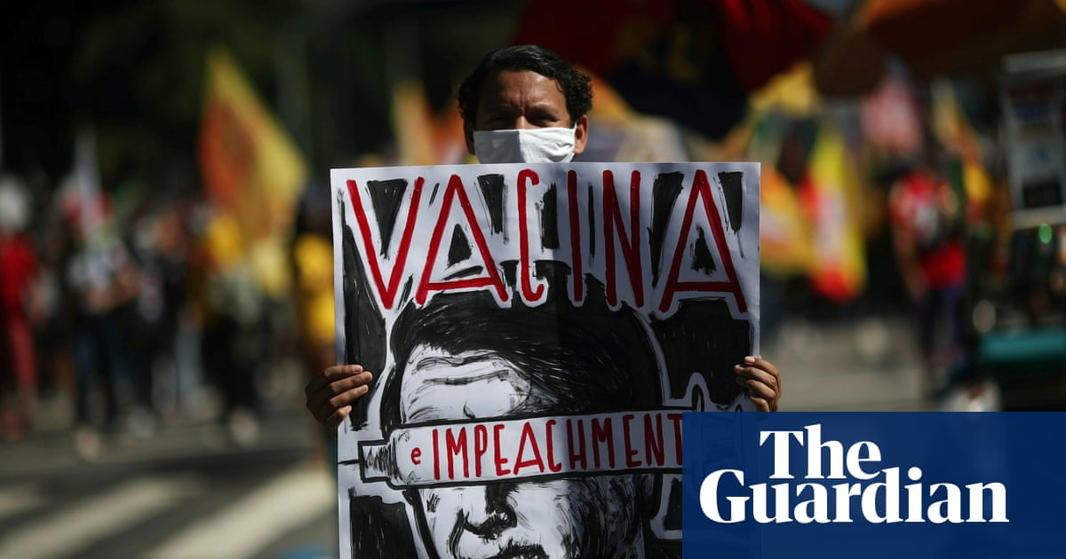 Brazilian protesters call for Jair Bolsonaro to be impeached