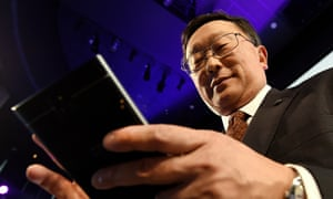 John Chen, BlackBerry's chief executive.