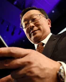 BlackBerry's chief executive, John Chen