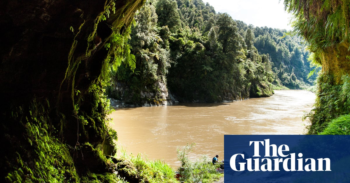 <b>Mystic river: Canoeing a living entity in New Zealand</b>