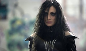 Just not enough time to do her magic … Cate Blanchett as Hela in Thor: Ragnarok