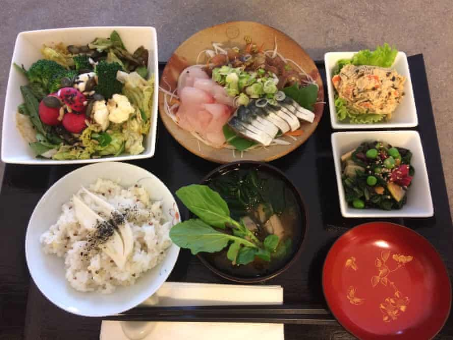 Japanese lunch at La Table d'Etsuko, Nice, France