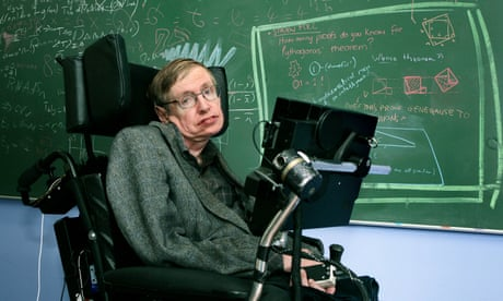 A life in science: Stephen Hawking