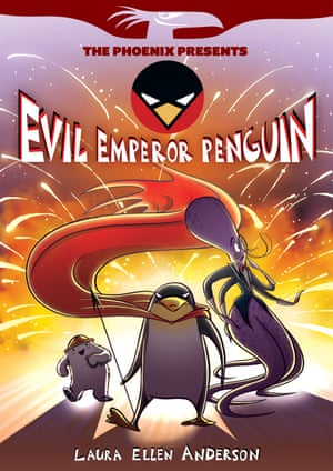 Evil Emperor Penguin 1 Front Cover