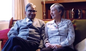 Helen Forrester (June Bhatia) with her husband Avadh Bhatia