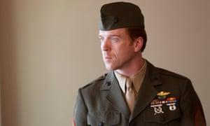 Damian Lewis as Nicholas Brody in Homeland.