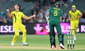 Australia secured a much needed victory over South Africa at Adelaide Oval.