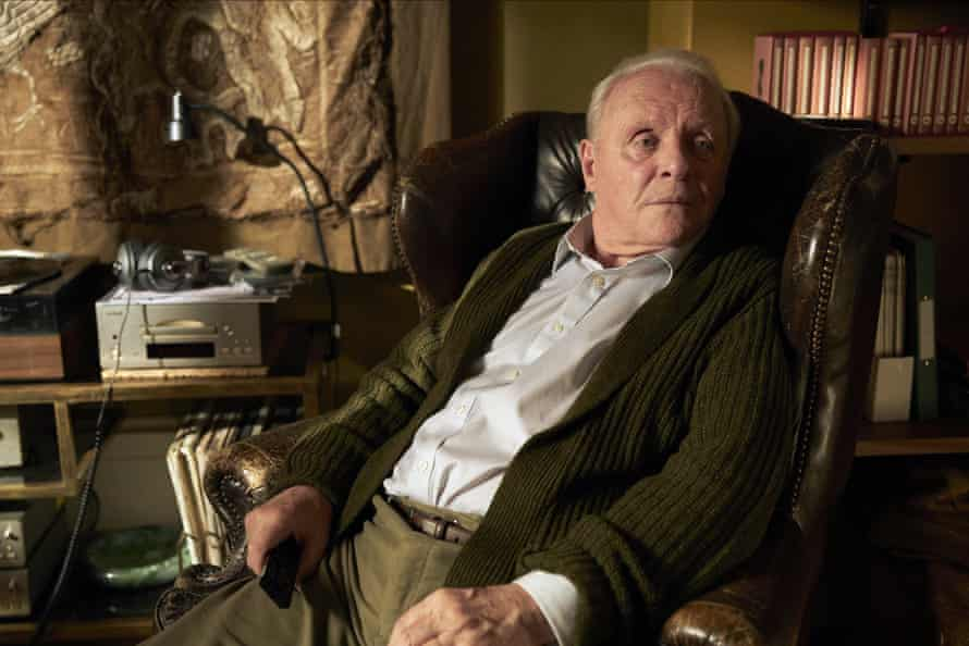 Anthony Hopkins in The Father.