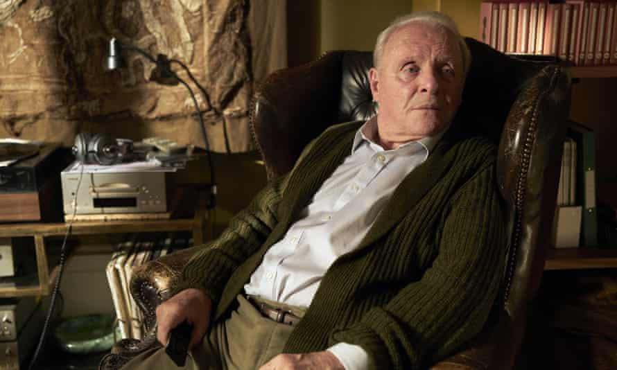 Winner … Anthony Hopkins in The Father.