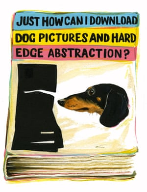Just How Can I Download Dog Pictures and Hard Edge Abstraction?