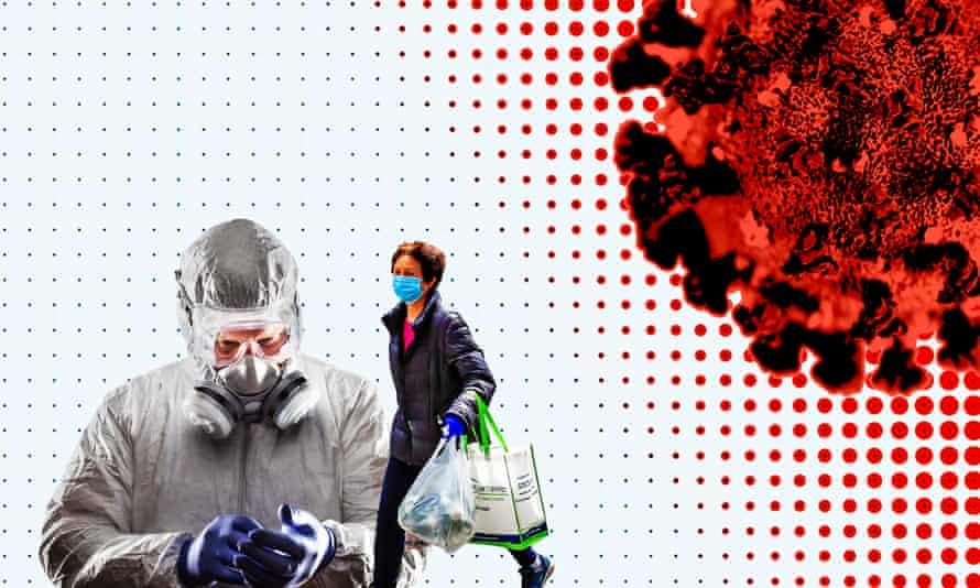 Coronavirus daily briefing graphic