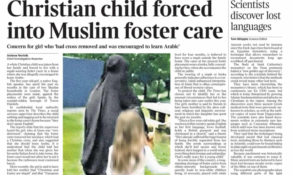 The Times front page, 28 August 2017