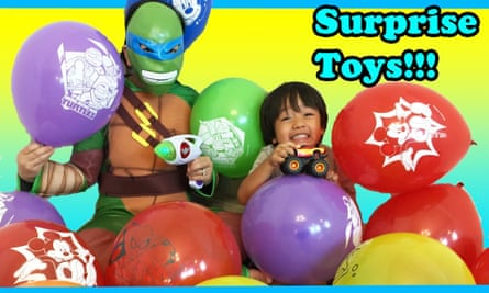 YouTube toy reviewer Ryan