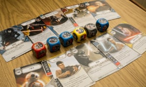 Star Wars Destiny pits characters from the sci-fi saga against one another in fast-paced tactical battles.