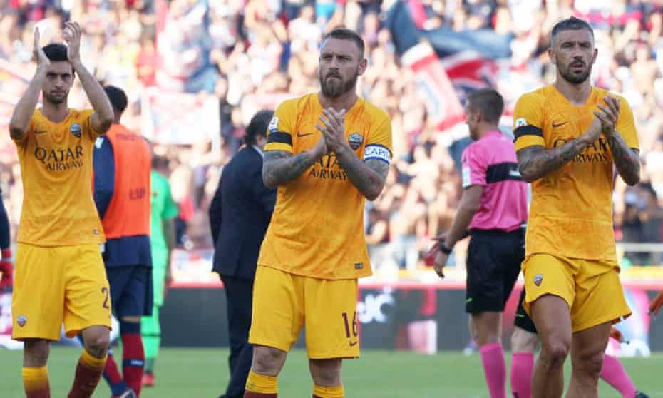 Revamped Roma S Rapid Decline Leaves Di Francesco In Line Of Fire Serie A The Guardian